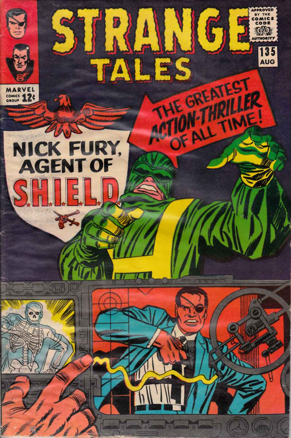 Strange Tales #135 Fair (1.0) [Marvel Comic]_THUMBNAIL