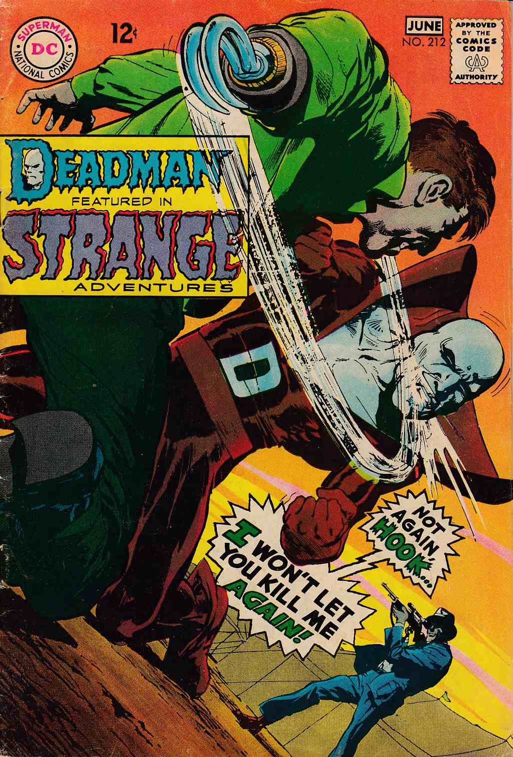 Strange Adventures #212 Very Good (4.0) [DC Comic] THUMBNAIL
