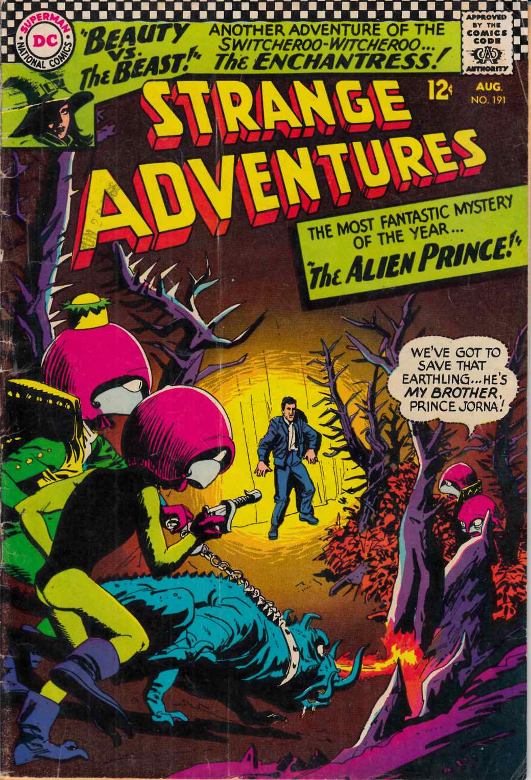 Strange Adventures #191 Very Good (4.0) [DC Comic] LARGE
