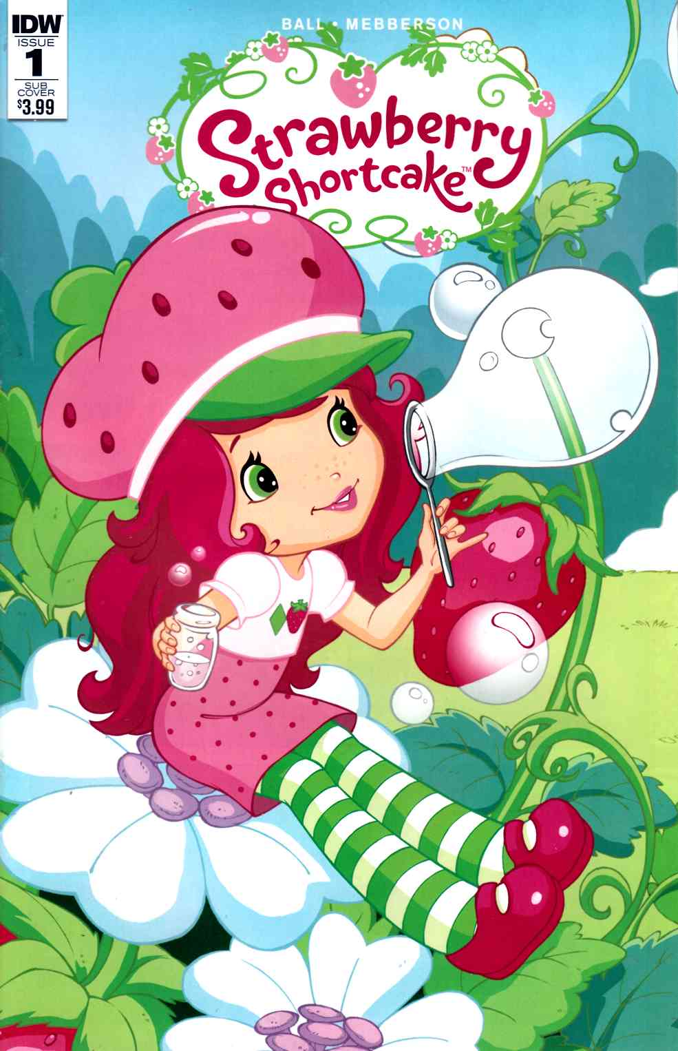 Strawberry Shortcake #1 Subscription Cover [IDW Comic]