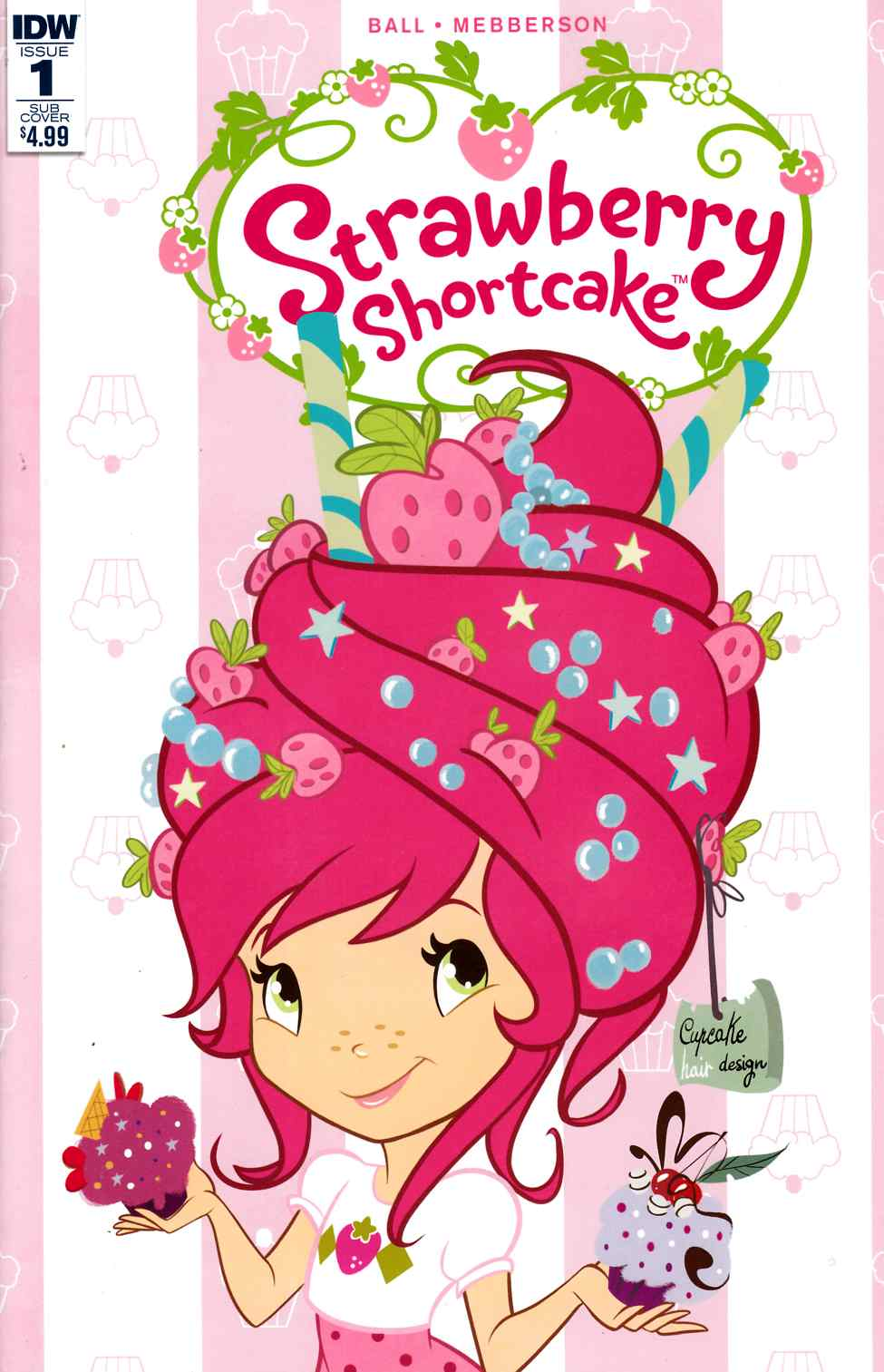 Strawberry Shortcake #1 Scented Cover [IDW Comic] THUMBNAIL