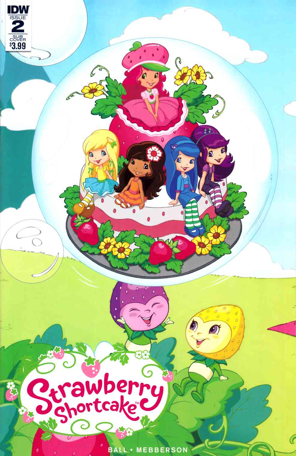 Strawberry Shortcake #2 Subscription Cover [IDW Comic] LARGE