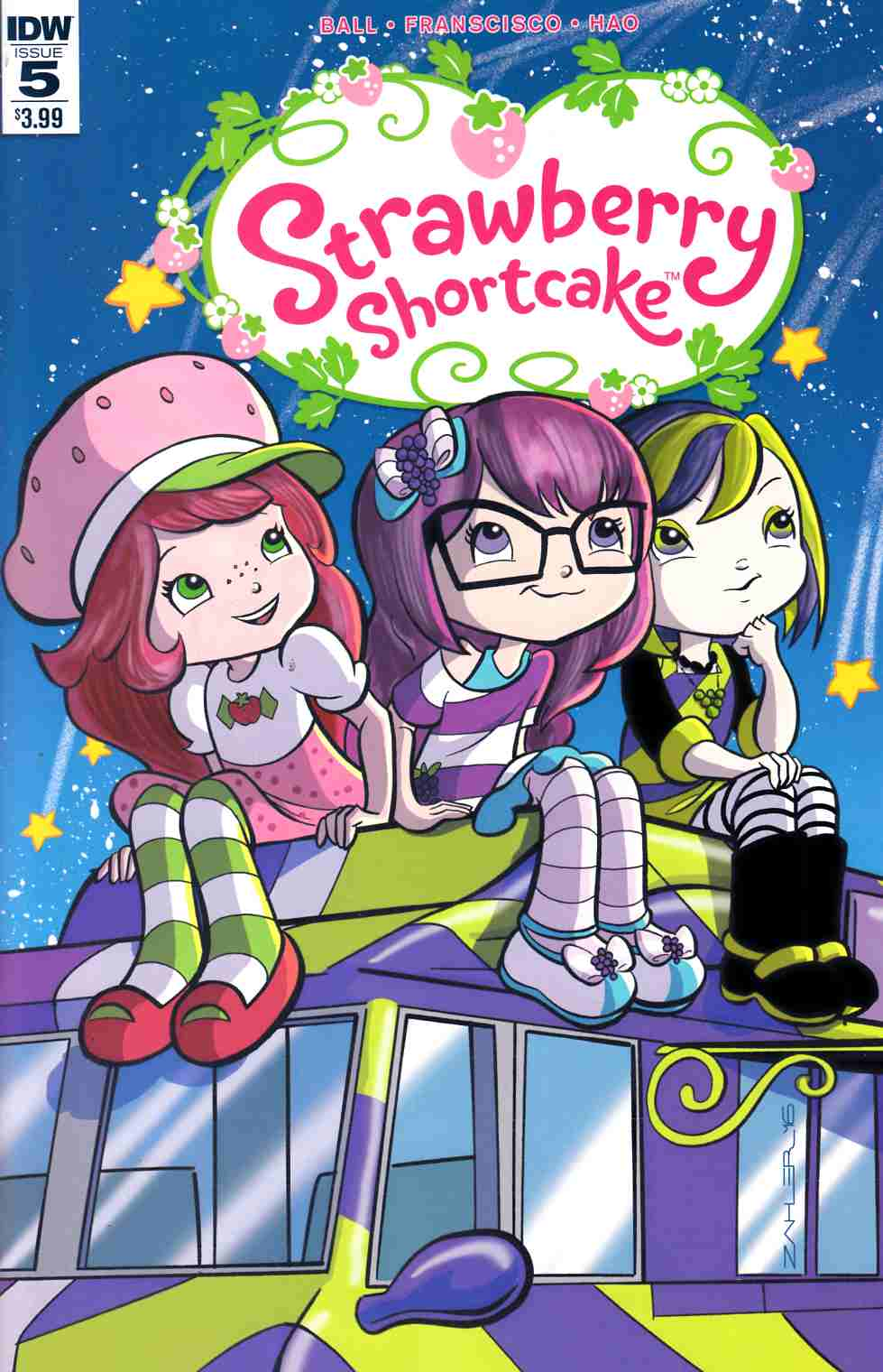 Strawberry Shortcake #5 [IDW Comic]