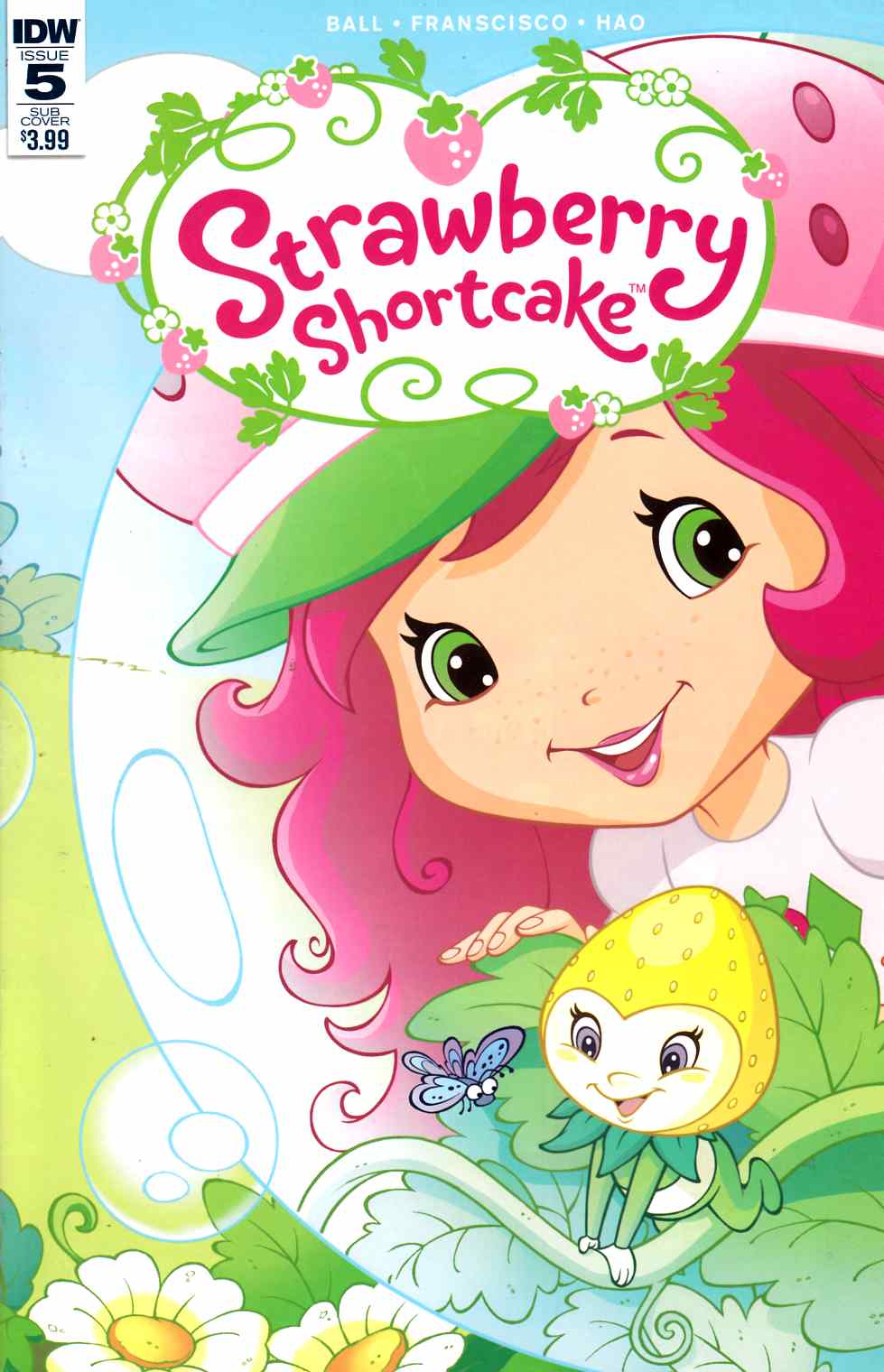 Strawberry Shortcake #5 Subscription Cover [IDW Comic] LARGE
