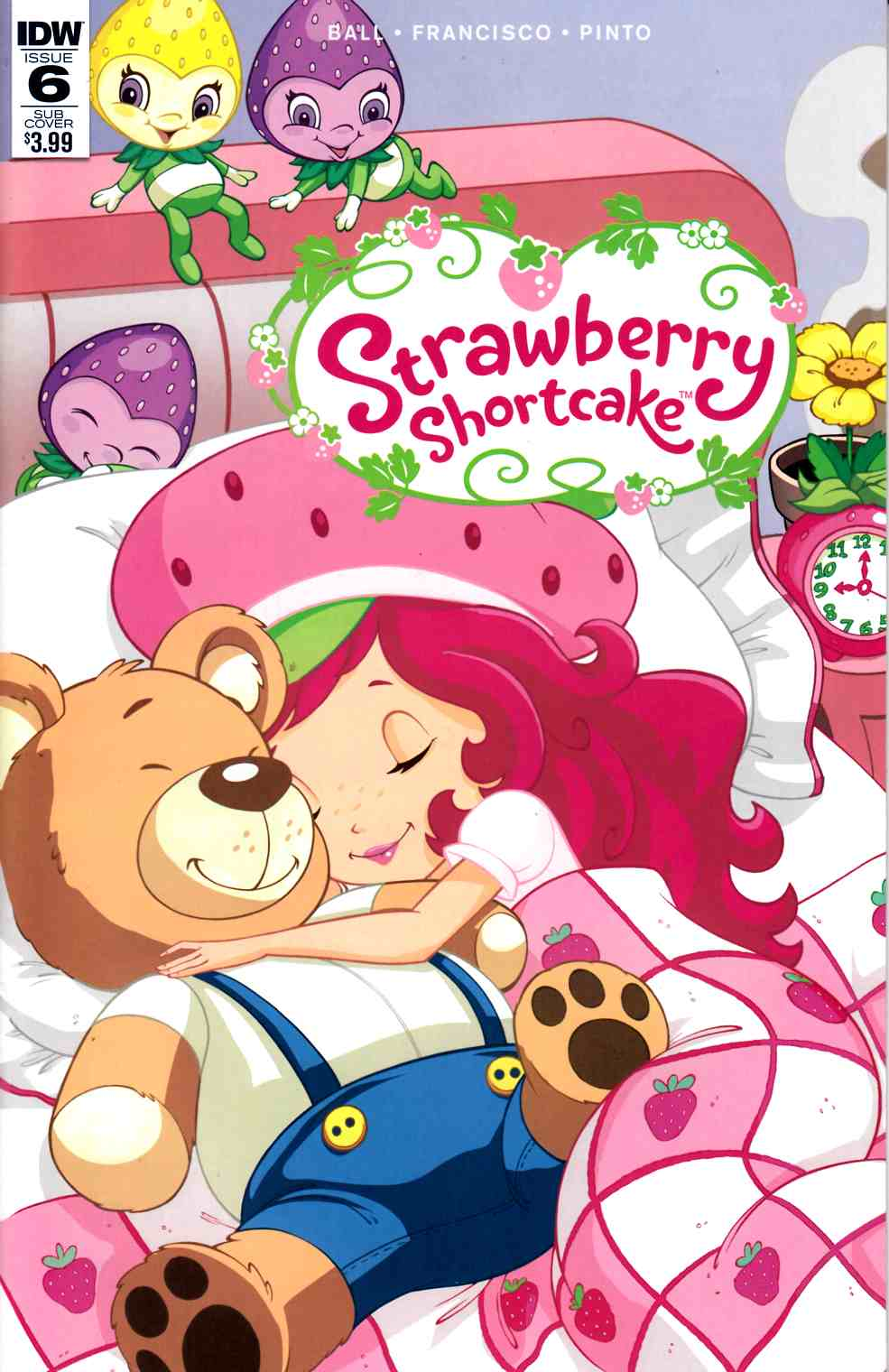 Strawberry Shortcake #6 Subscription Cover [IDW Comic] THUMBNAIL