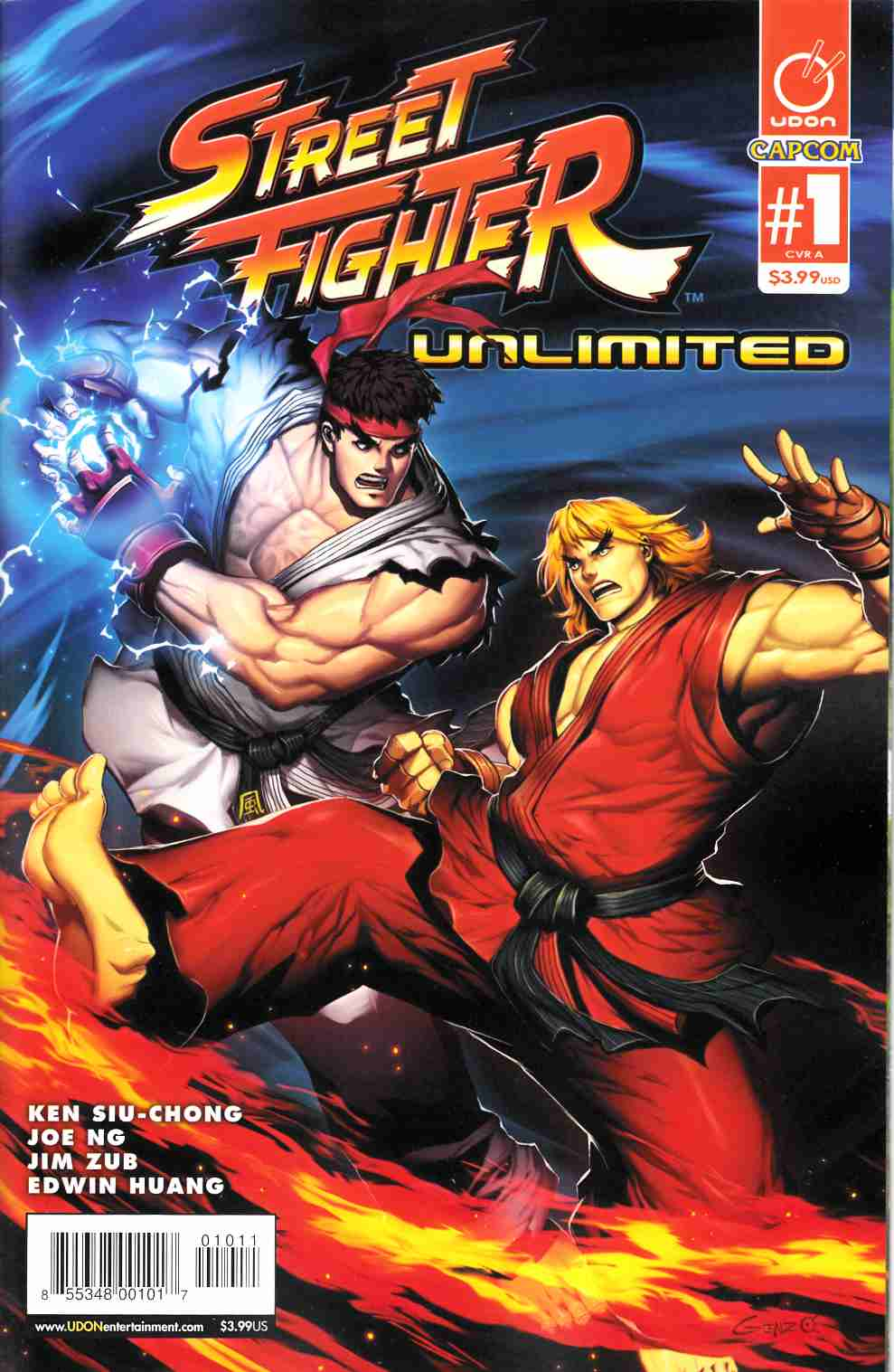 Street Fighter Unlimited #1 Cover A- Genzoman [Udon Comic] THUMBNAIL
