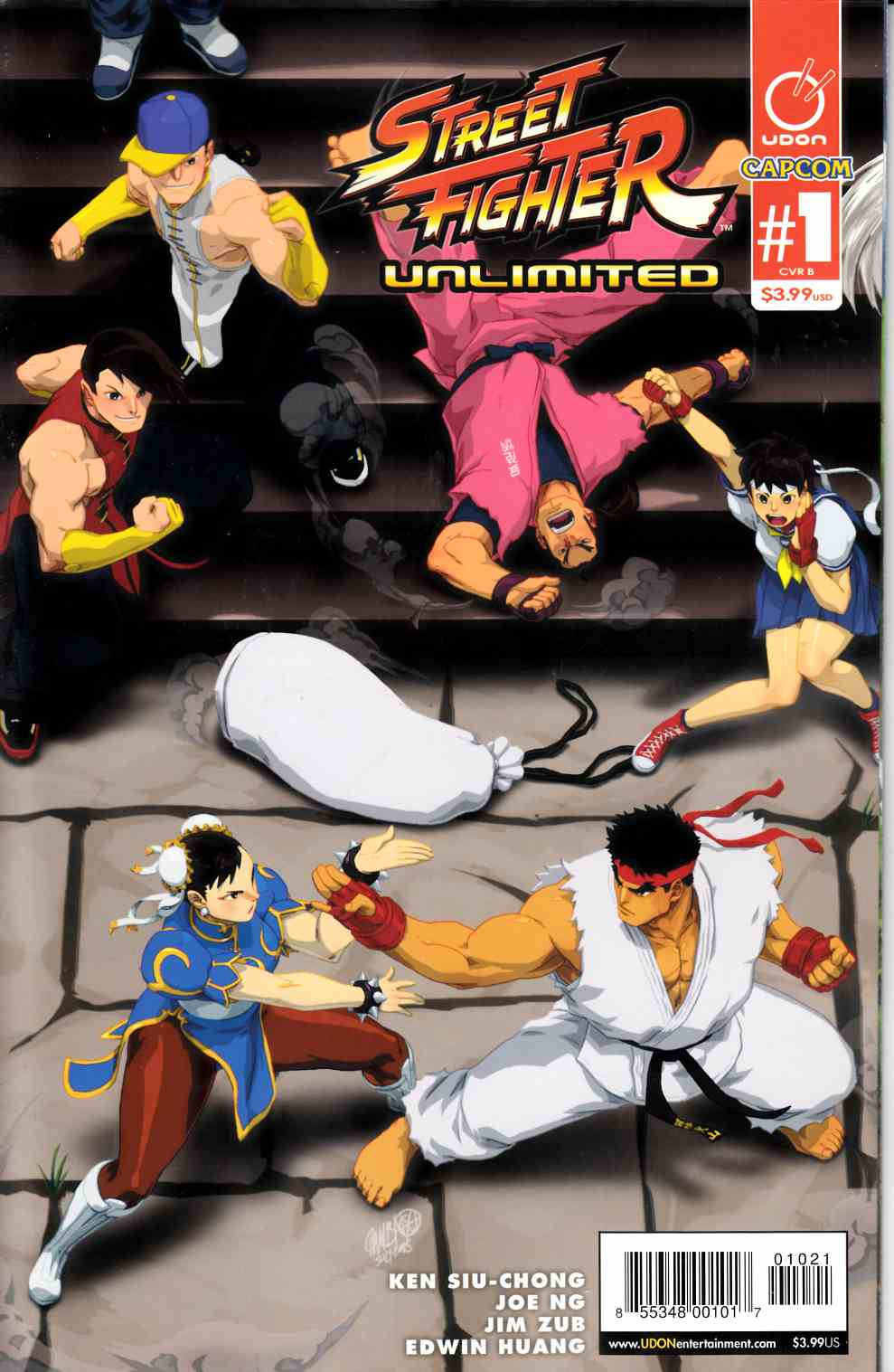 Street Fighter Unlimited #1 Cover B- Cruz Ultra Jam [Udon Comic] THUMBNAIL