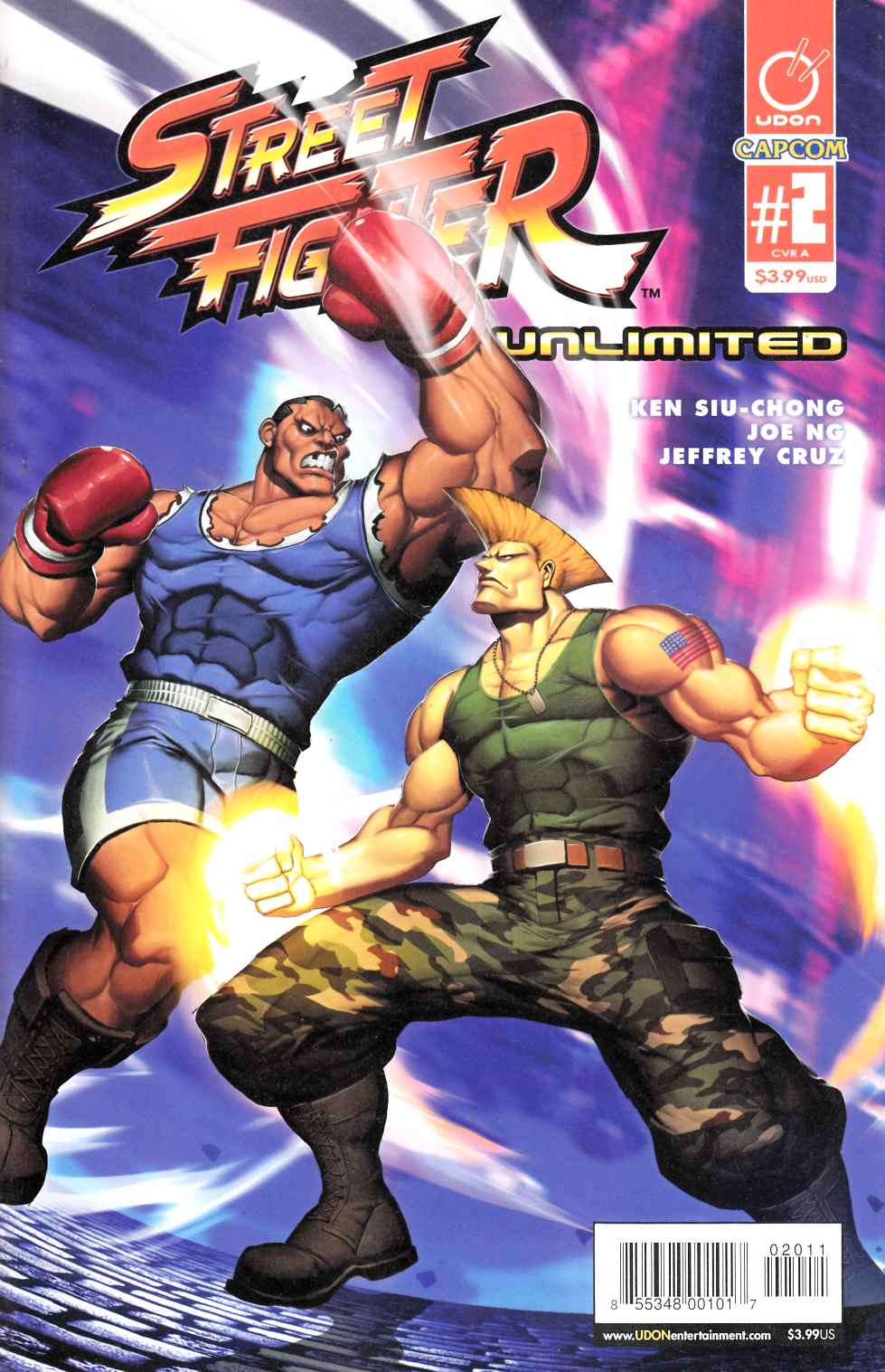 Street Fighter Unlimited #2 Cover A- Genzoman Story [Udon Comic]