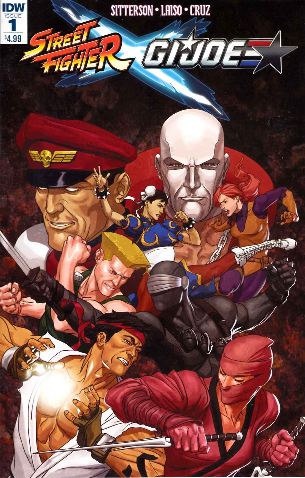 Street Fighter X GI Joe #1 [IDW Comic] THUMBNAIL