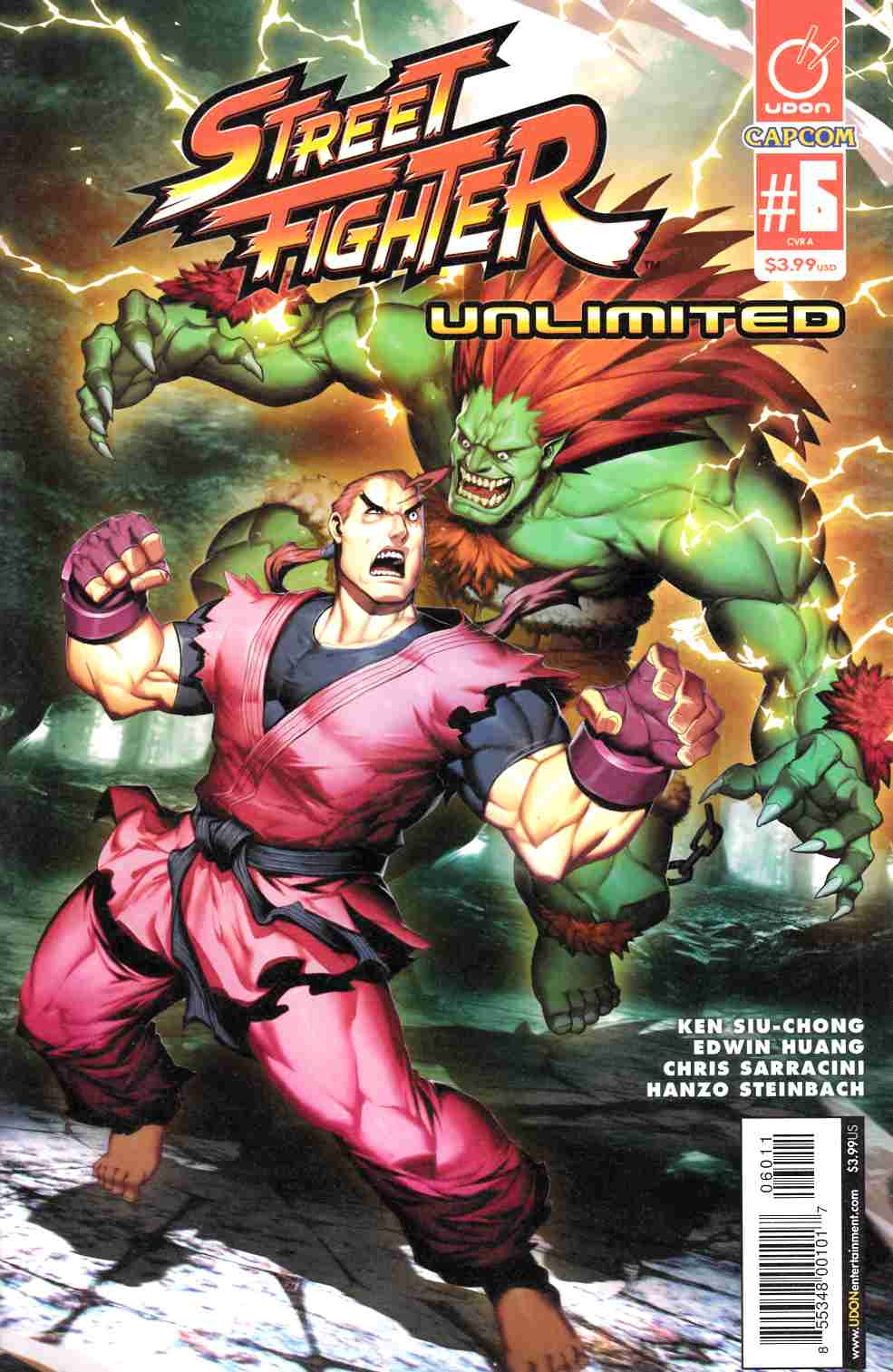 Street Fighter Unlimited #6 Cover A Near Mint (9.4) [Udon Comic] LARGE