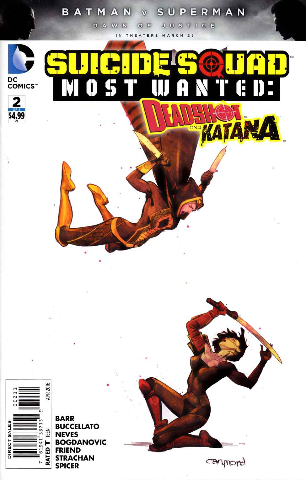 Suicide Squad Most Wanted Deadshot Katana #2 [DC Comic]_THUMBNAIL