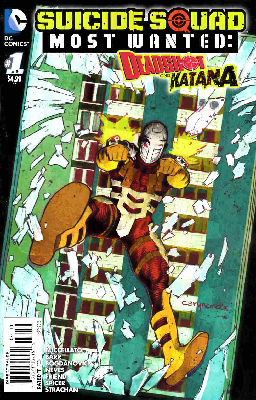 Suicide Squad Most Wanted Deadshot Katana #1 Cover B- Deadshot [DC Comic]_THUMBNAIL