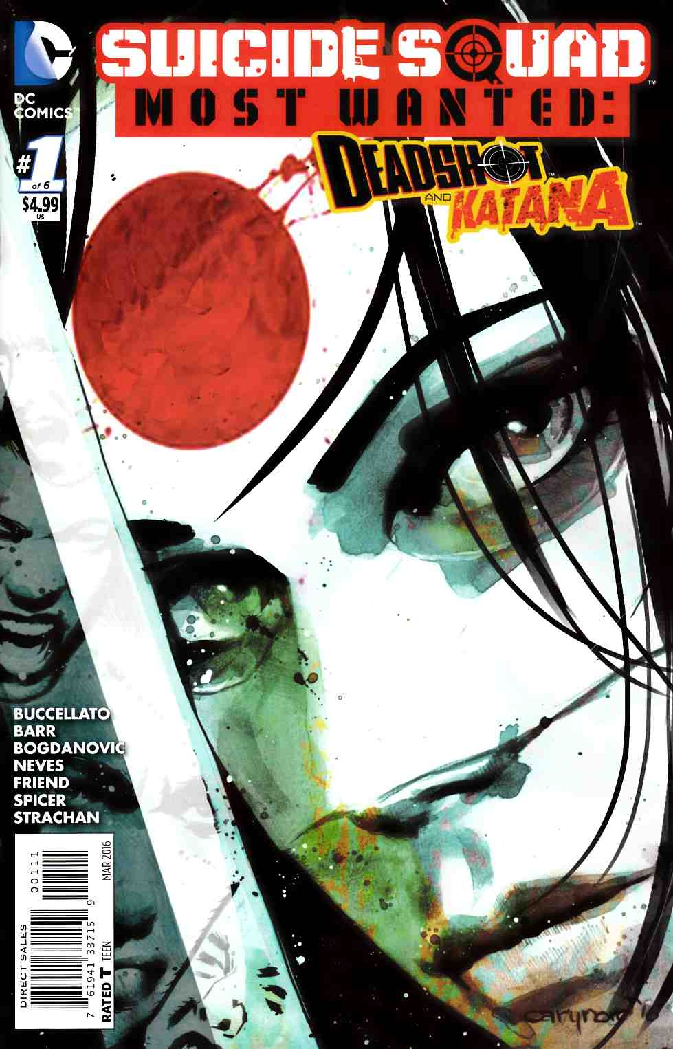 Suicide Squad Most Wanted Deadshot Katana #1 Cover A- Katana [DC Comic]_THUMBNAIL