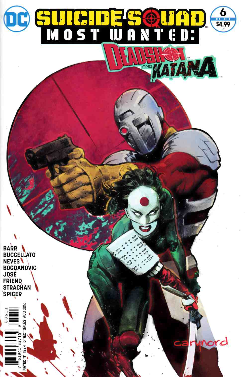 Suicide Squad Most Wanted Deadshot Katana #6 [DC Comic]_THUMBNAIL