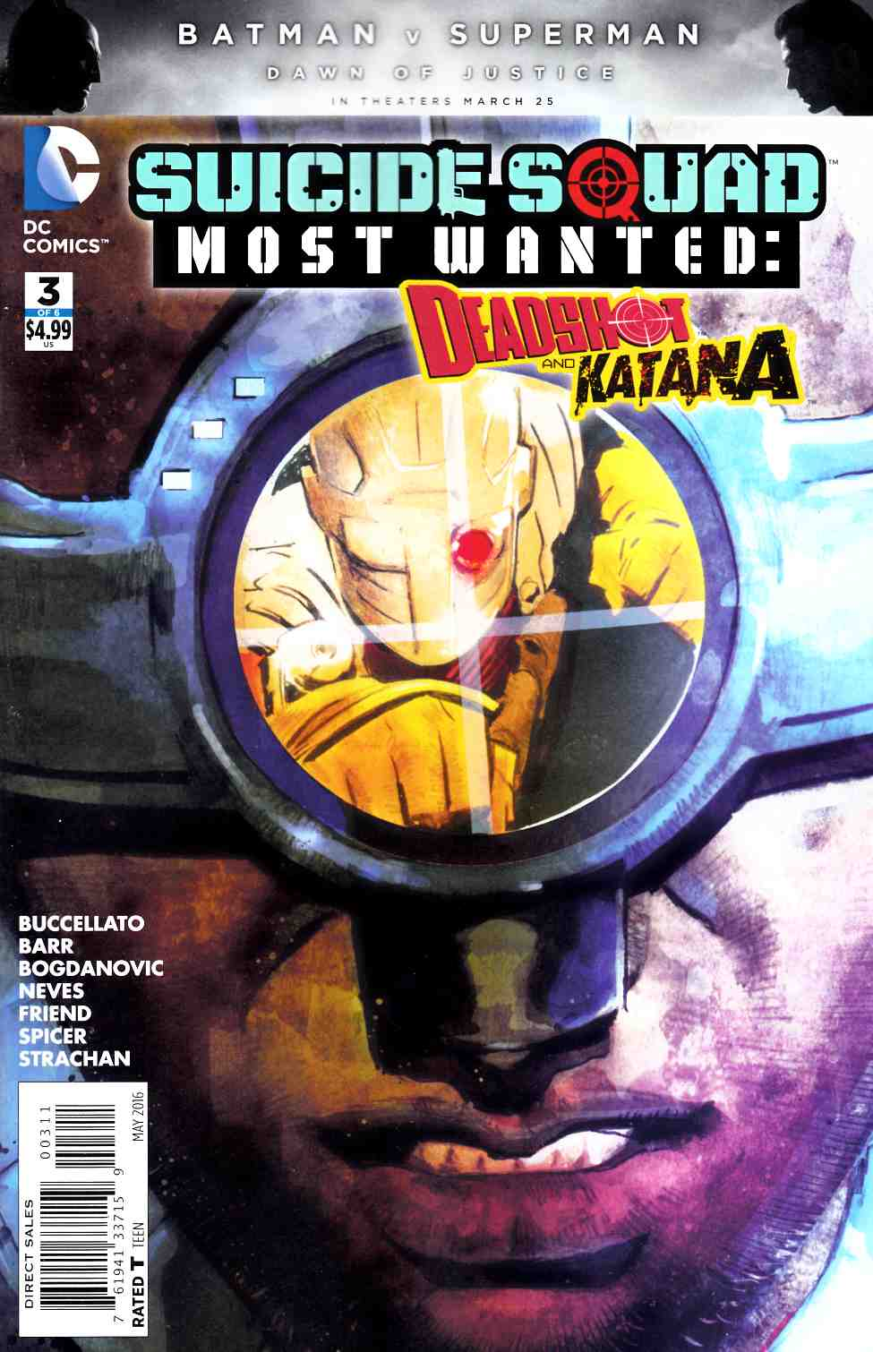 Suicide Squad Most Wanted Deadshot Katana #3 [DC Comic]_THUMBNAIL
