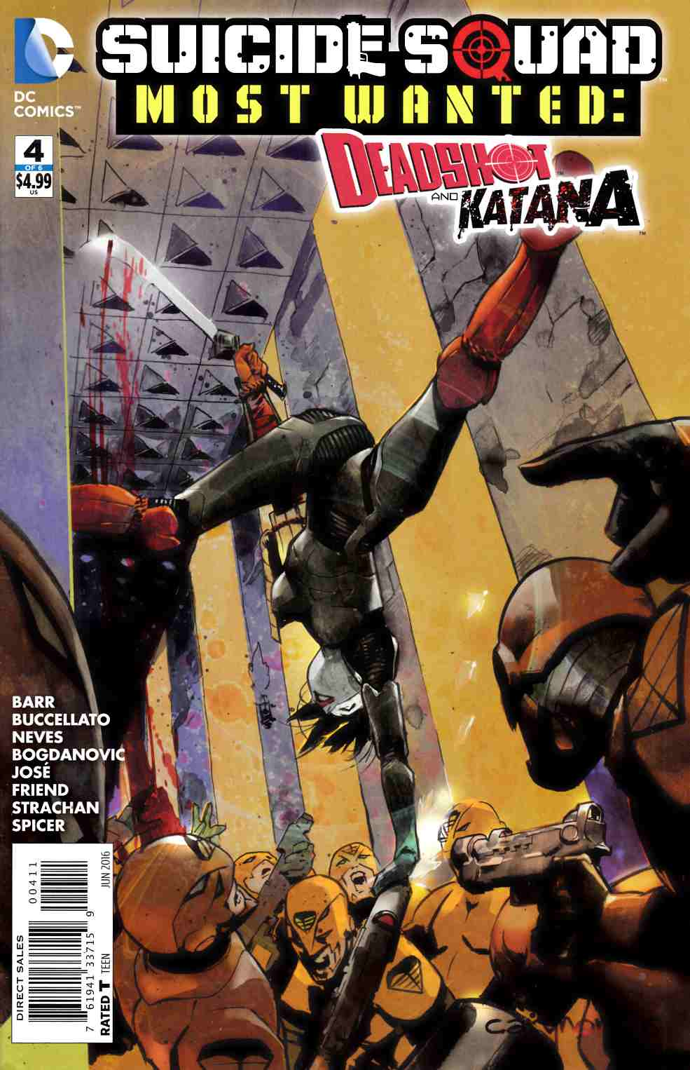 Suicide Squad Most Wanted Deadshot Katana #4 [DC Comic]_THUMBNAIL