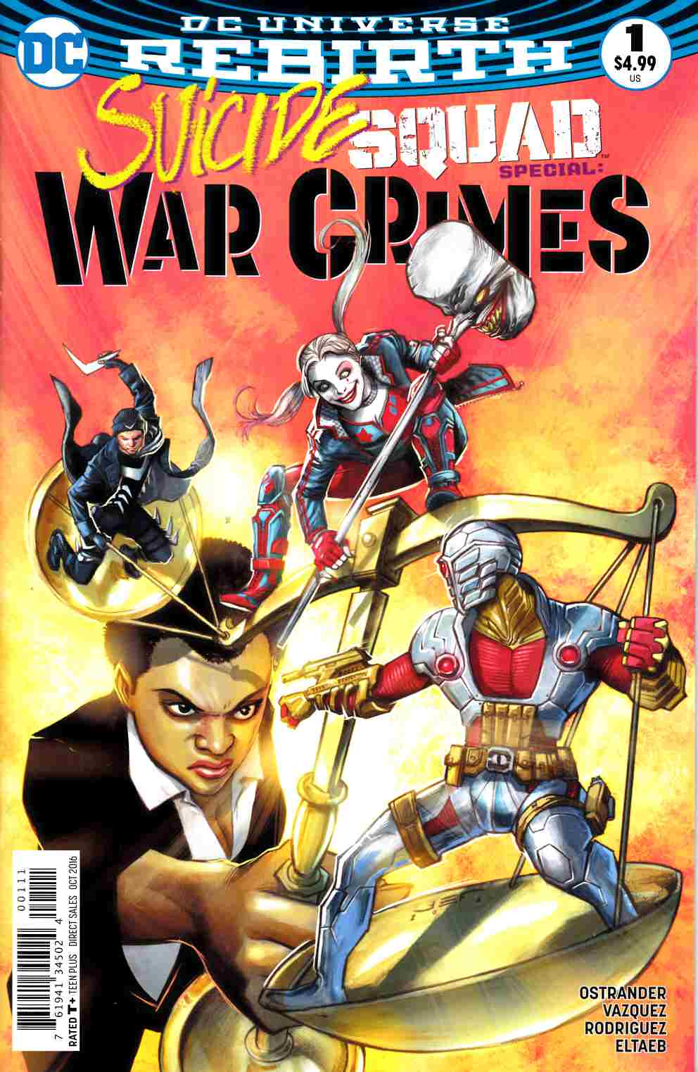 Suicide Squad War Crimes Special #1 [DC Comic] LARGE