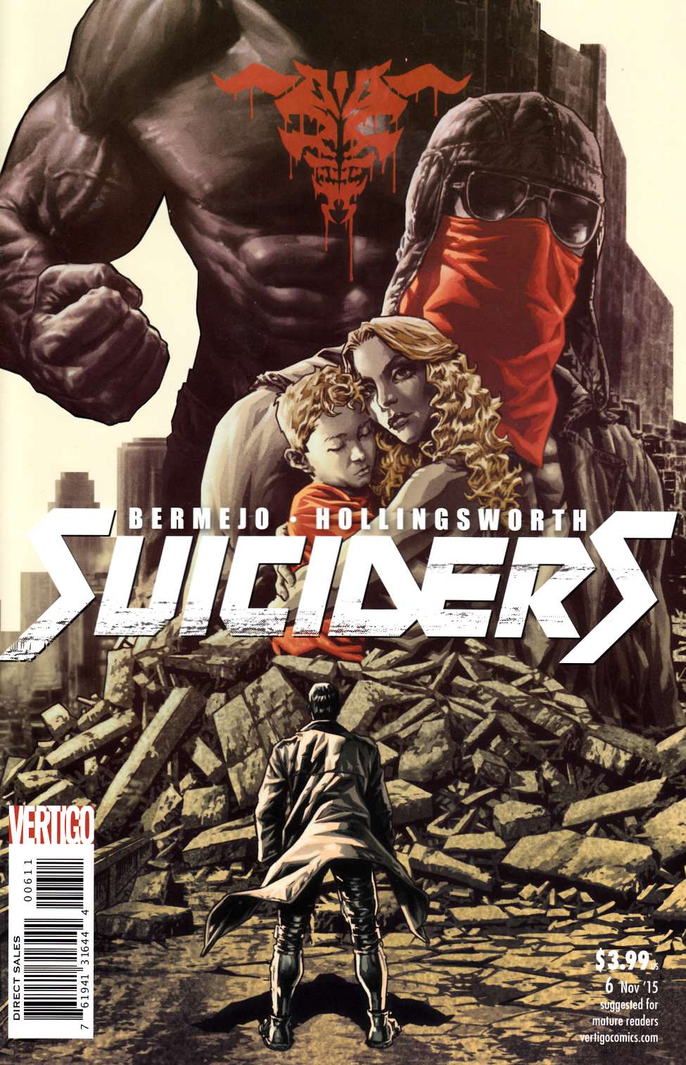 Suiciders #6 [DC Comic] LARGE
