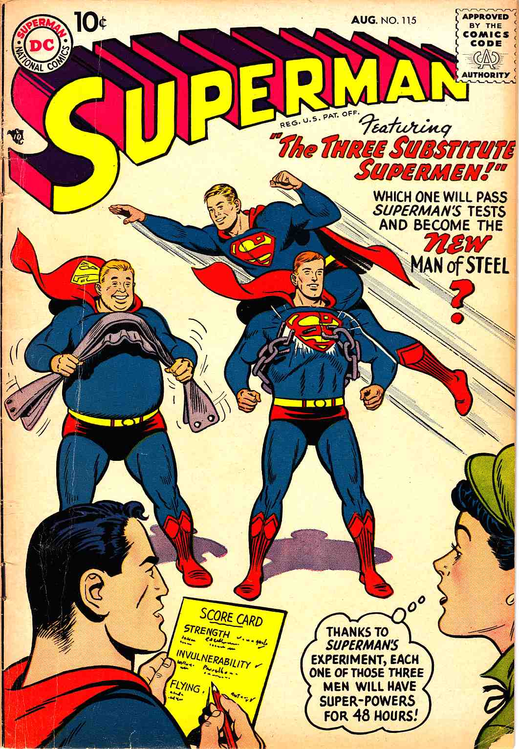 Superman #115 Very Good (4.0) [DC Comic] THUMBNAIL