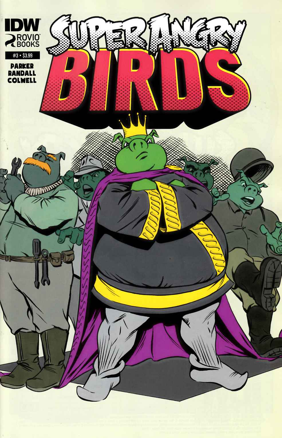 Angry Birds Super Angry Birds #3 [IDW Comic] THUMBNAIL