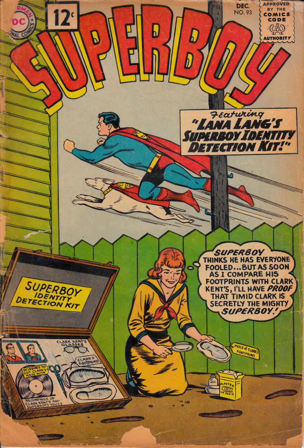 Superboy #93 Fair (1.0) [DC Comic] LARGE