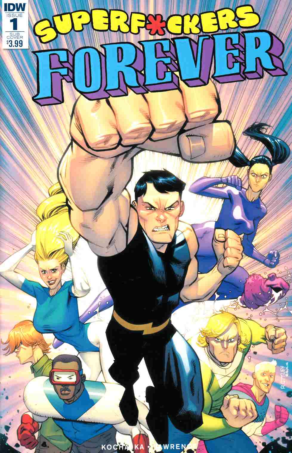 Super F*ckers Forever #1 Subscription Cover [IDW Comic]_THUMBNAIL