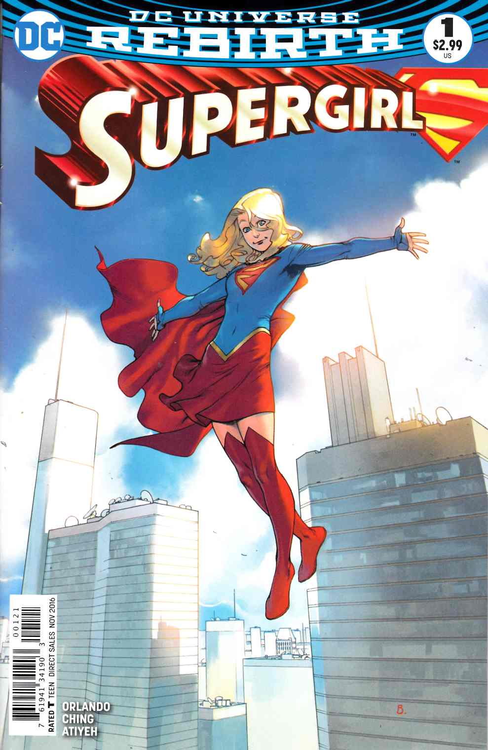 Supergirl #1 Bengal Variant Cover [DC Comic] LARGE