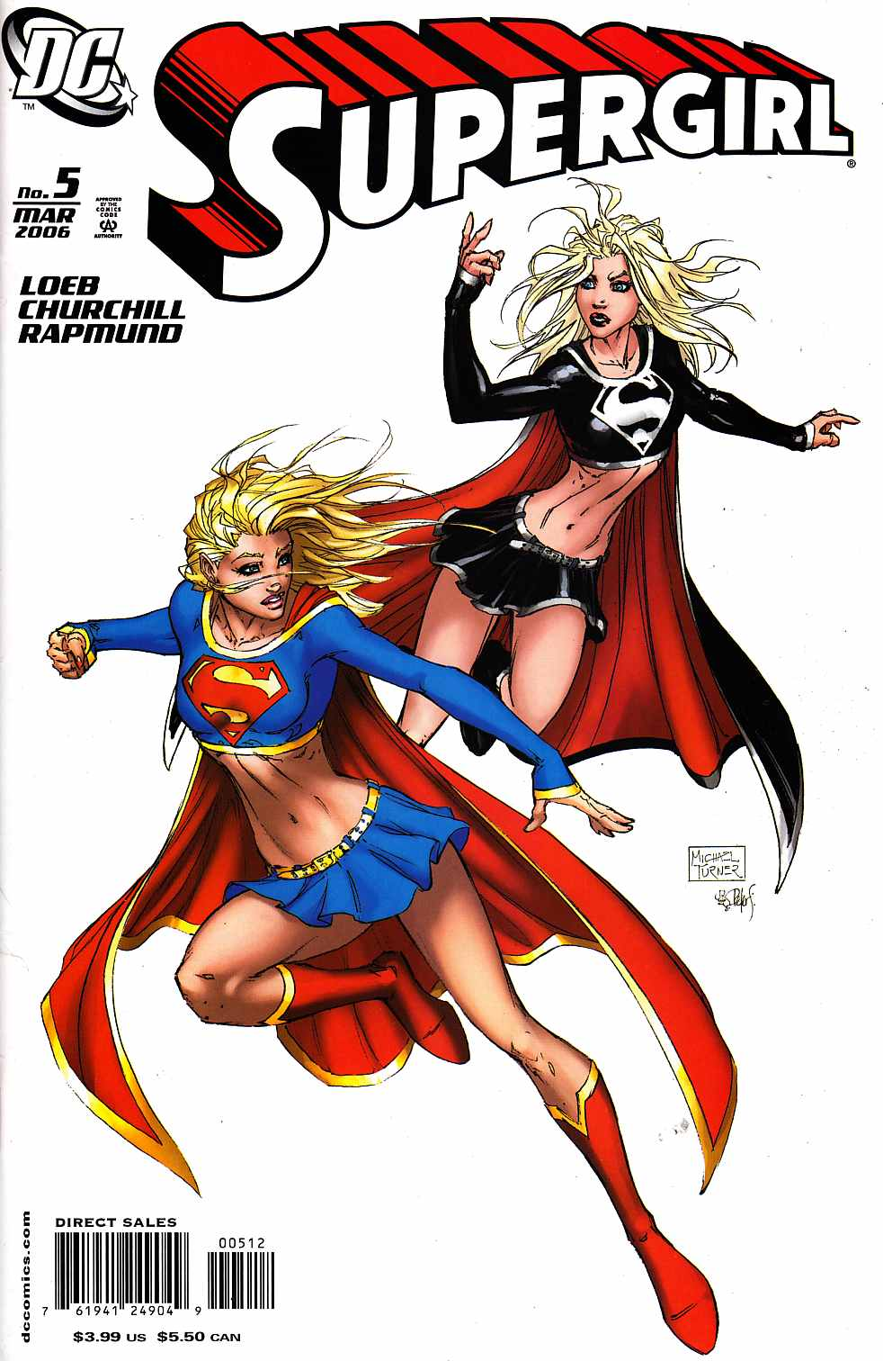 Supergirl #5 Second Printing Near Mint (9.4) [DC Comic]_LARGE