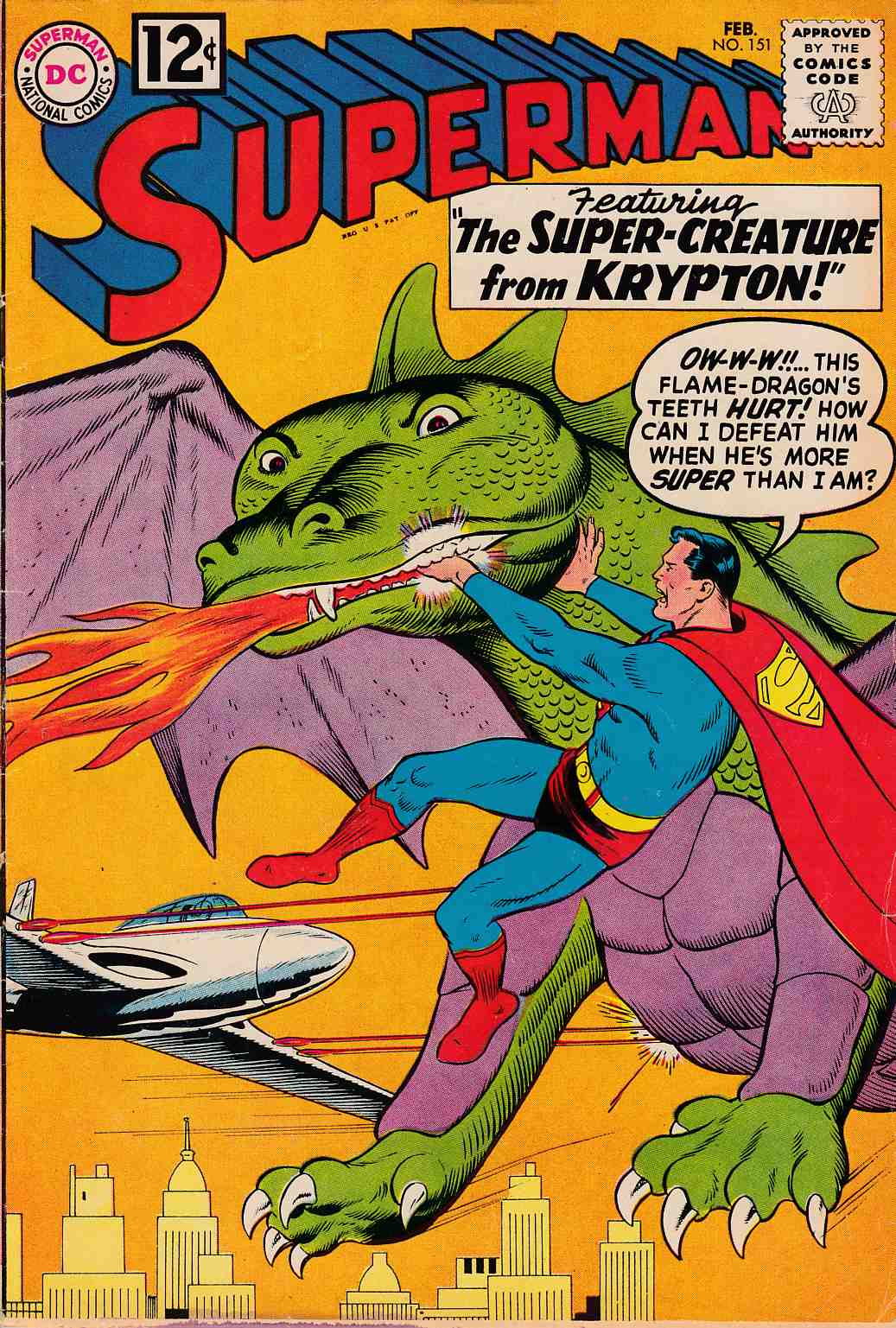 Superman #151 Fine (6.0) [DC Comic]