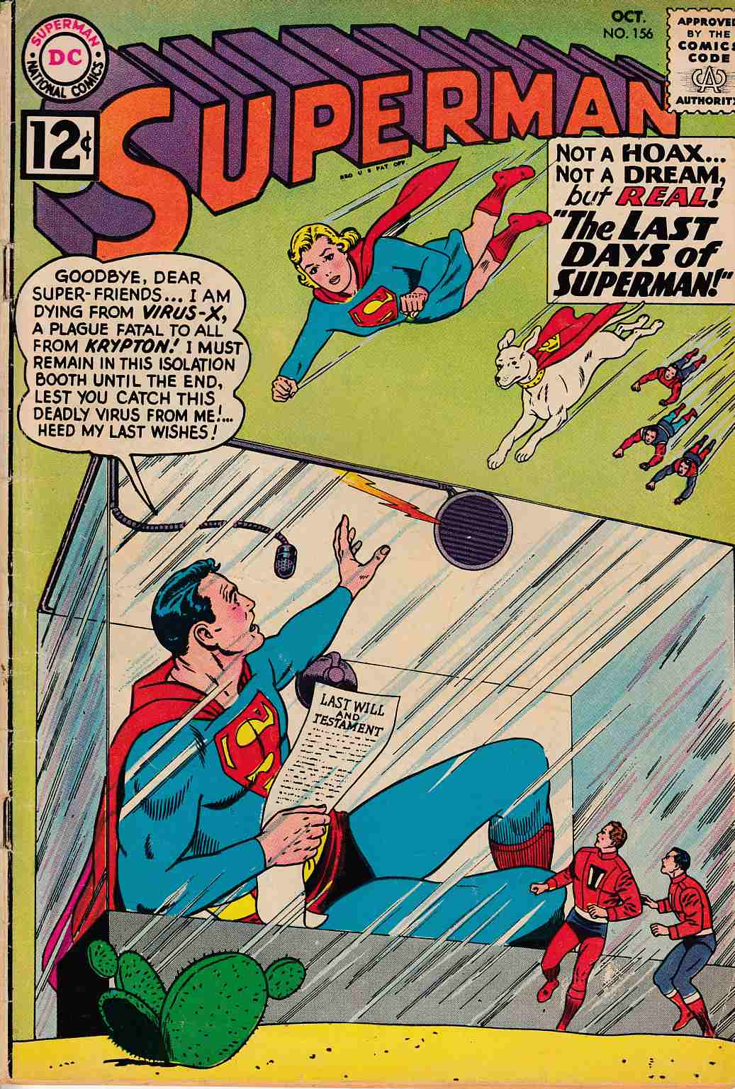 Superman #156 Very Good (4.0) [DC Comic] THUMBNAIL