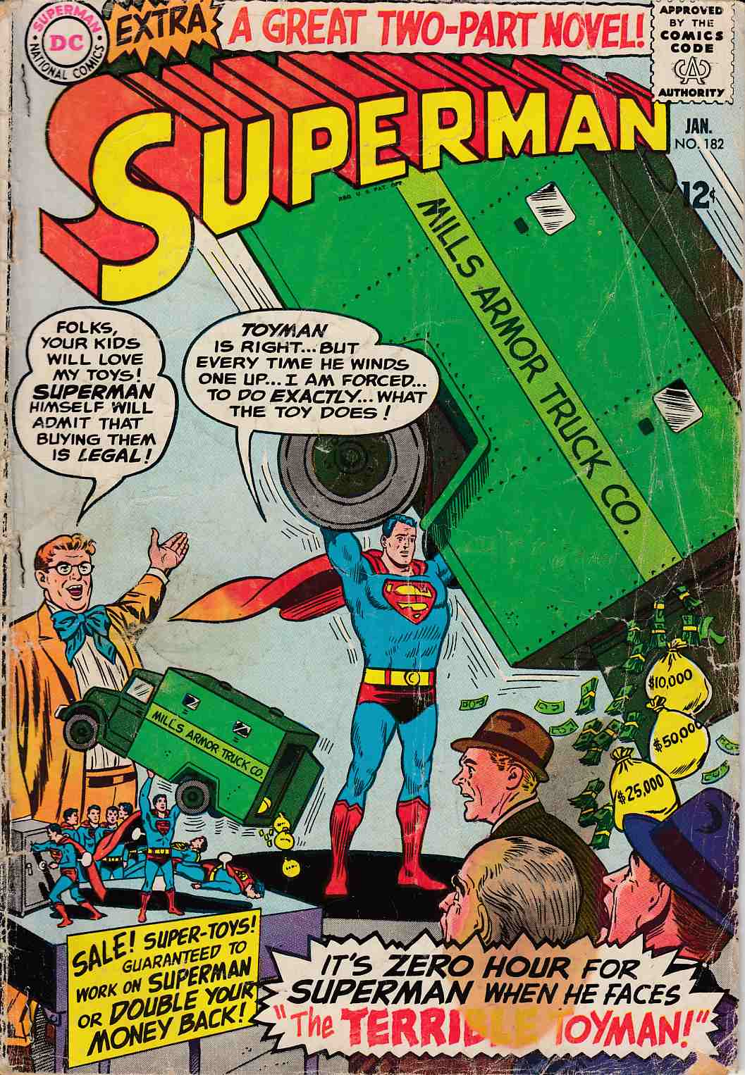 Superman #182 Fair (1.0) [DC Comic] THUMBNAIL
