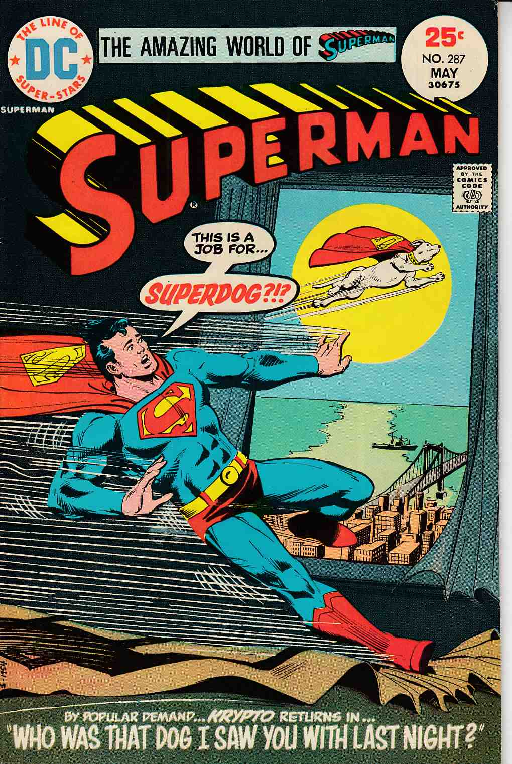 Superman #287 Fine/Very Fine (7.0) [DC Comic] LARGE
