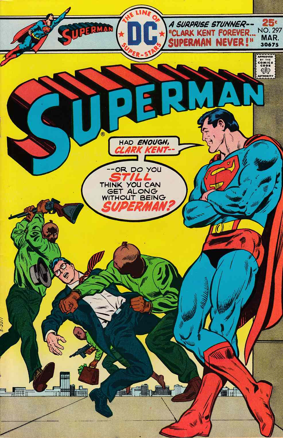 Superman #297 Very Fine (8.0) [DC Comic] LARGE