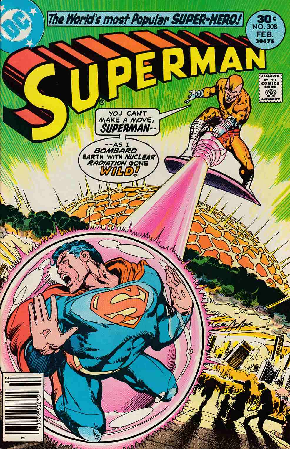 Superman #308 Near Mint Minus (9.2) [DC Comic] LARGE