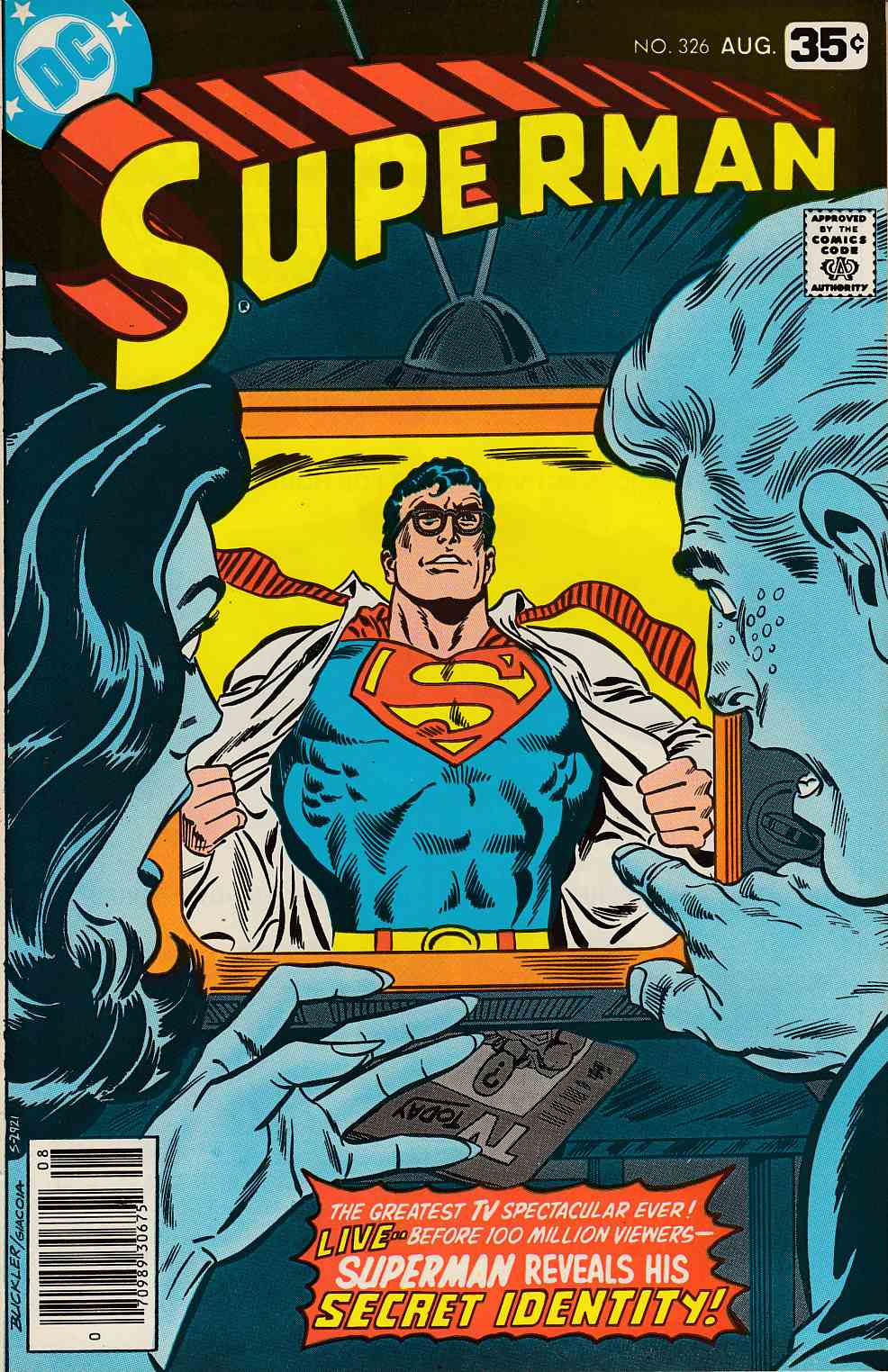 Superman #326 Very Fine Minus (7.5) [DC Comic] LARGE