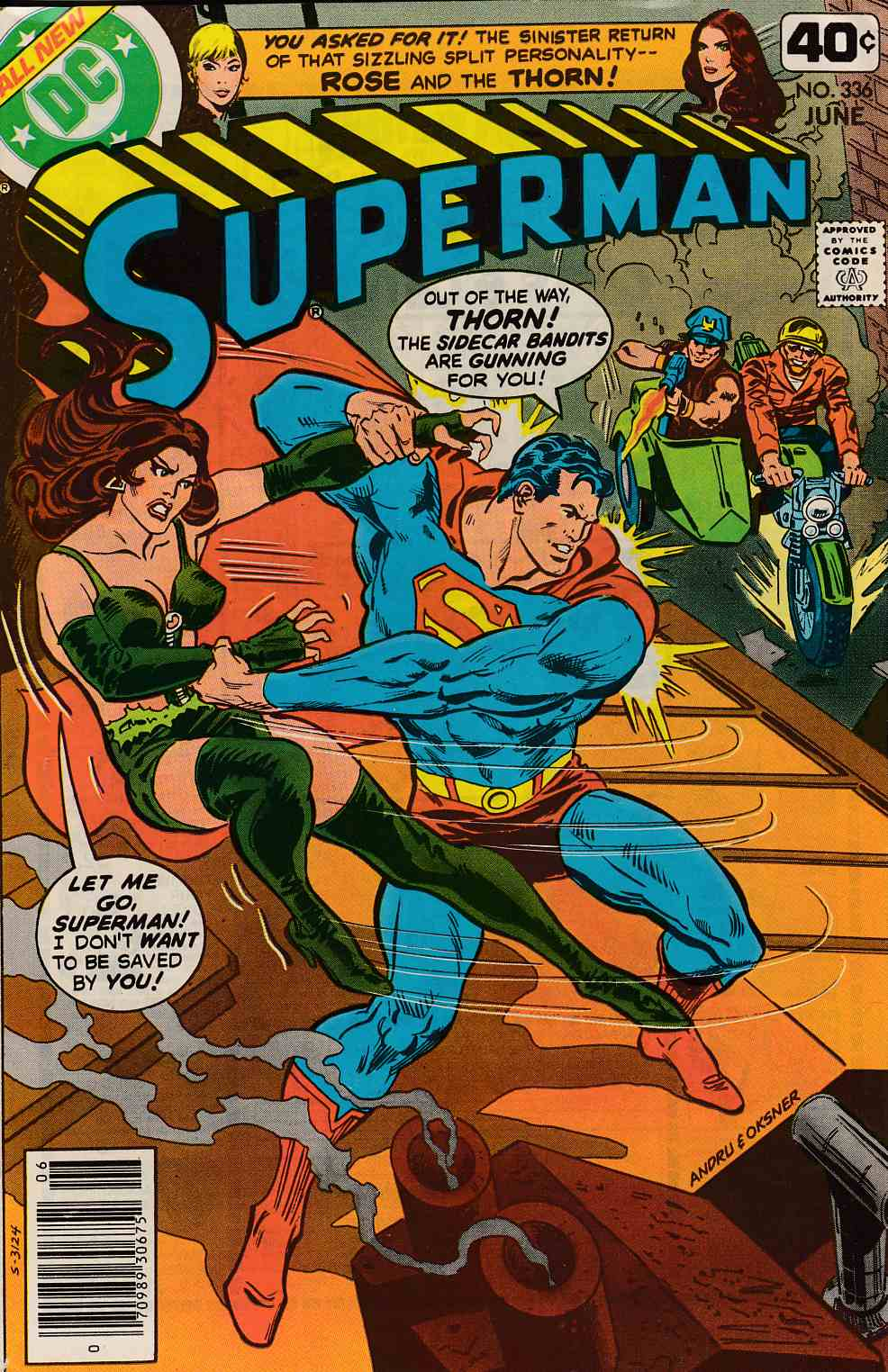 Superman #336 Very Fine Minus (7.5) [DC Comic] LARGE