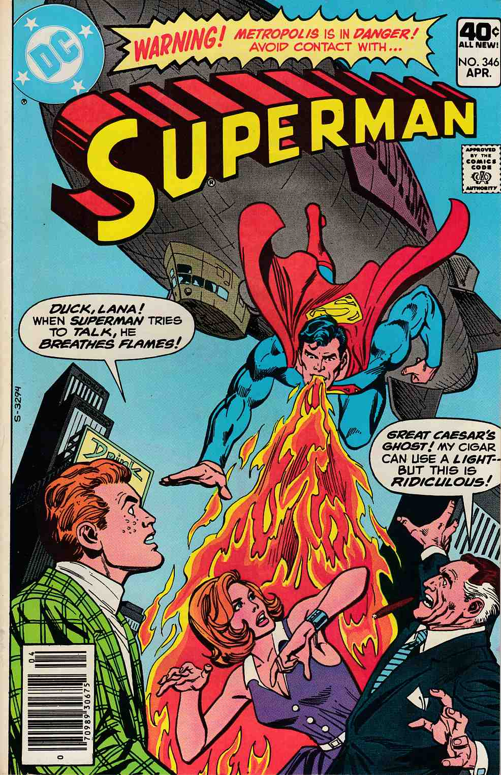 Superman #346 Fine (6.0) [DC Comic] LARGE