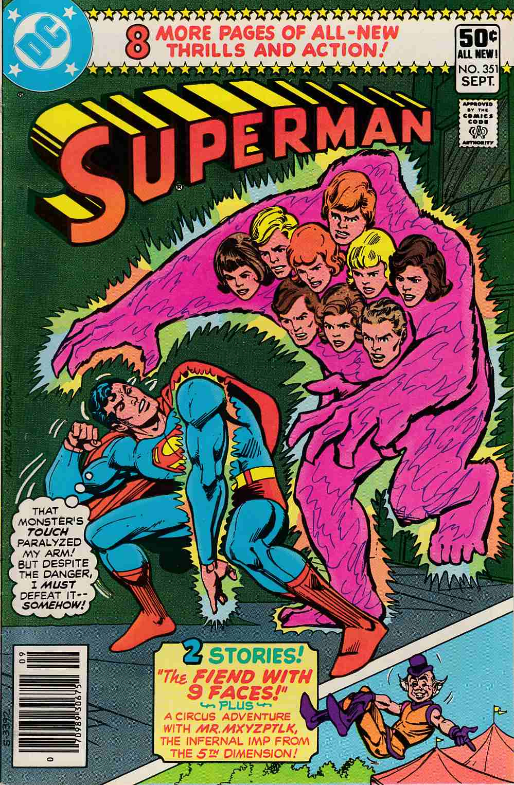 Superman #351 Very Fine Minus (7.5) [DC Comic] LARGE