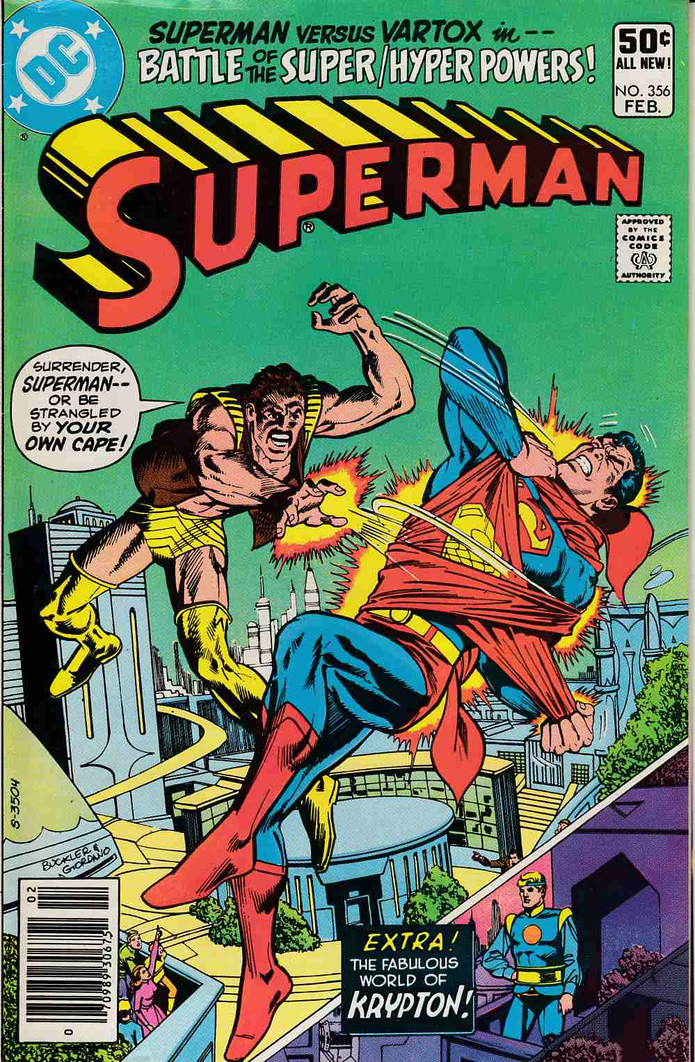 Superman #356 Newsstand Edition Fine (6.0) [DC Comic] LARGE