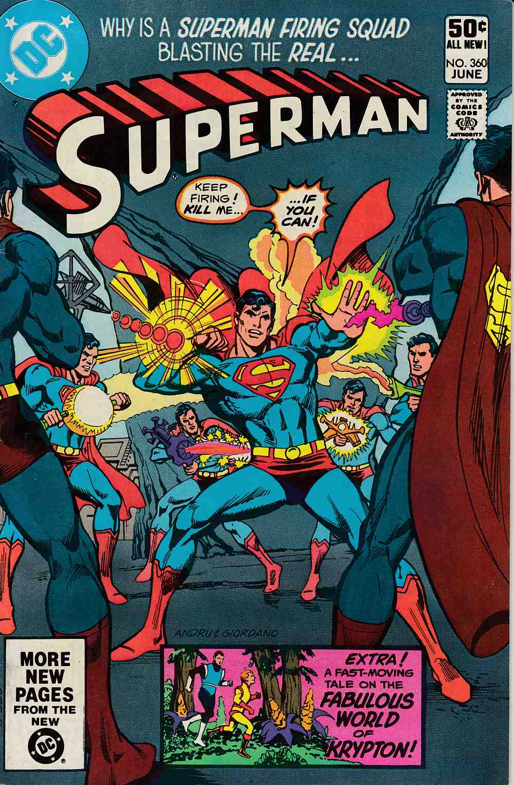 Superman #360 Very Fine Minus (7.5) [DC Comic] LARGE