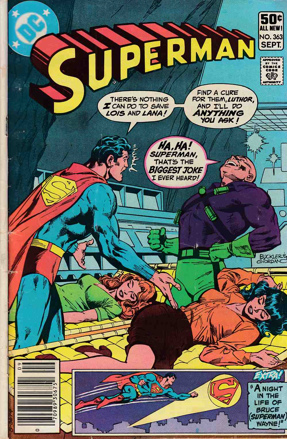 Superman #363 Newsstand Edition Very Good (4.0) [DC Comic] LARGE