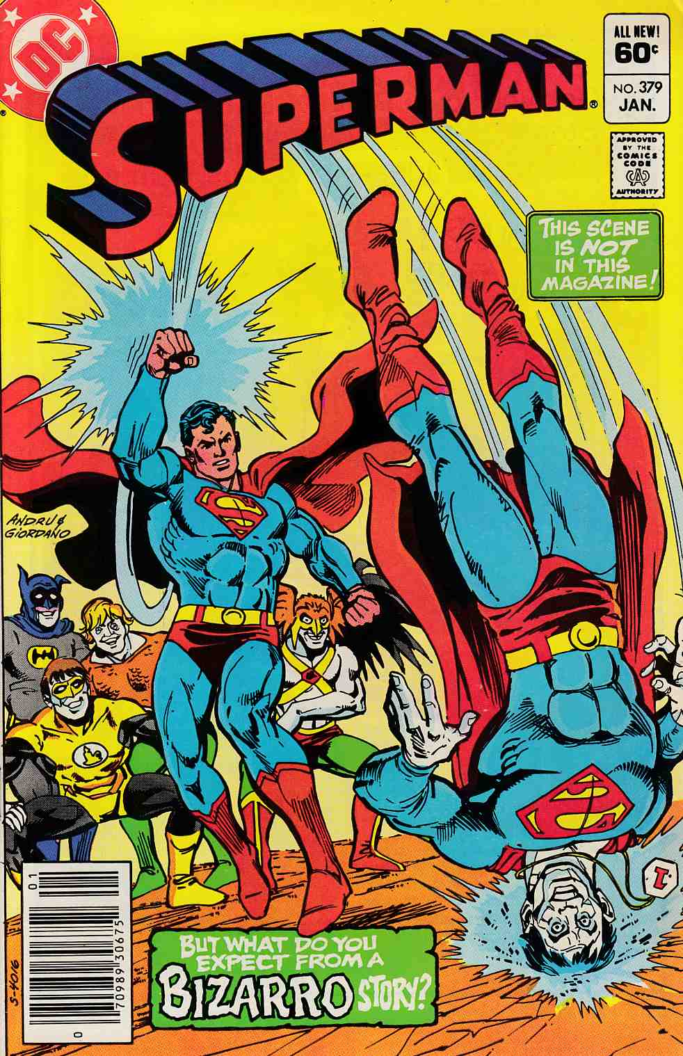 Superman #379 Newsstand Edition Very Fine Minus (7.5) [DC Comic] LARGE