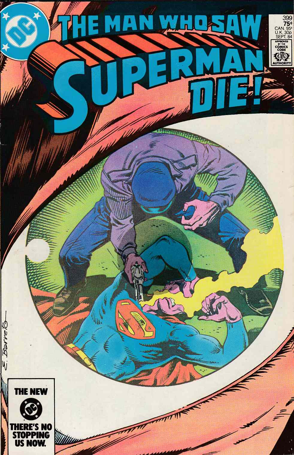 Superman #399 Fine Minus (5.5) [DC Comic] LARGE