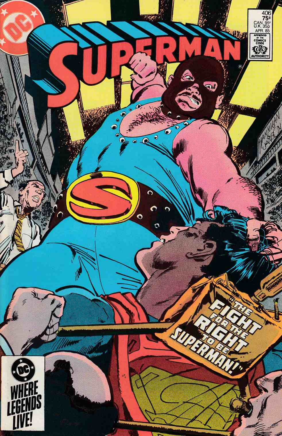 Superman #406 Very Fine (8.0) [DC Comic] LARGE