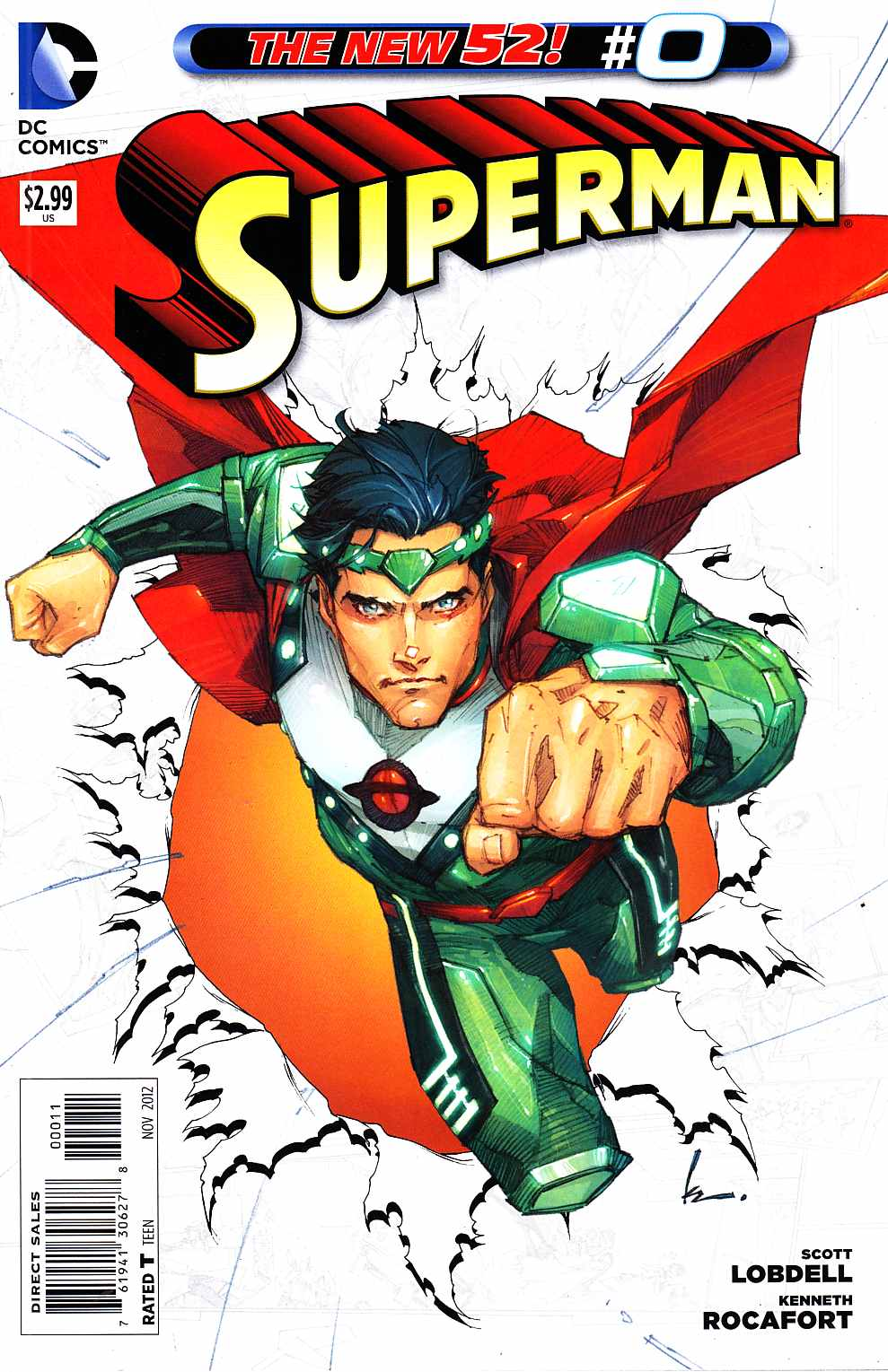 Superman #0 [DC Comic] LARGE