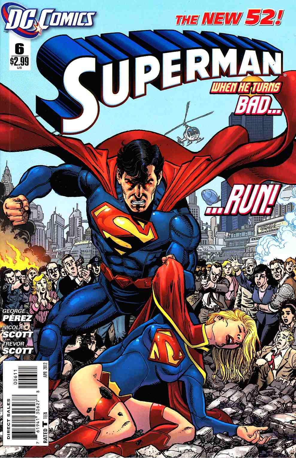 Superman #6 [DC Comic] LARGE
