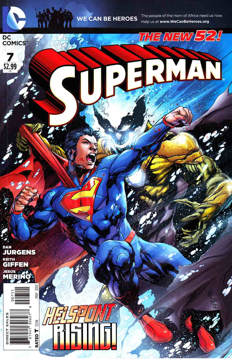 Superman #7 [DC Comic] LARGE