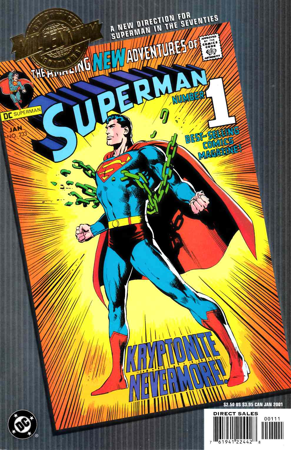 Superman #233 DC Millennium Edition [Comic] LARGE