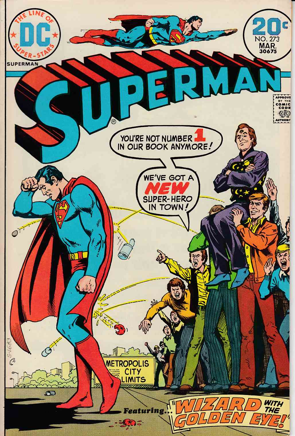 Superman #273 Very Fine Plus (8.5) [DC Comic] LARGE