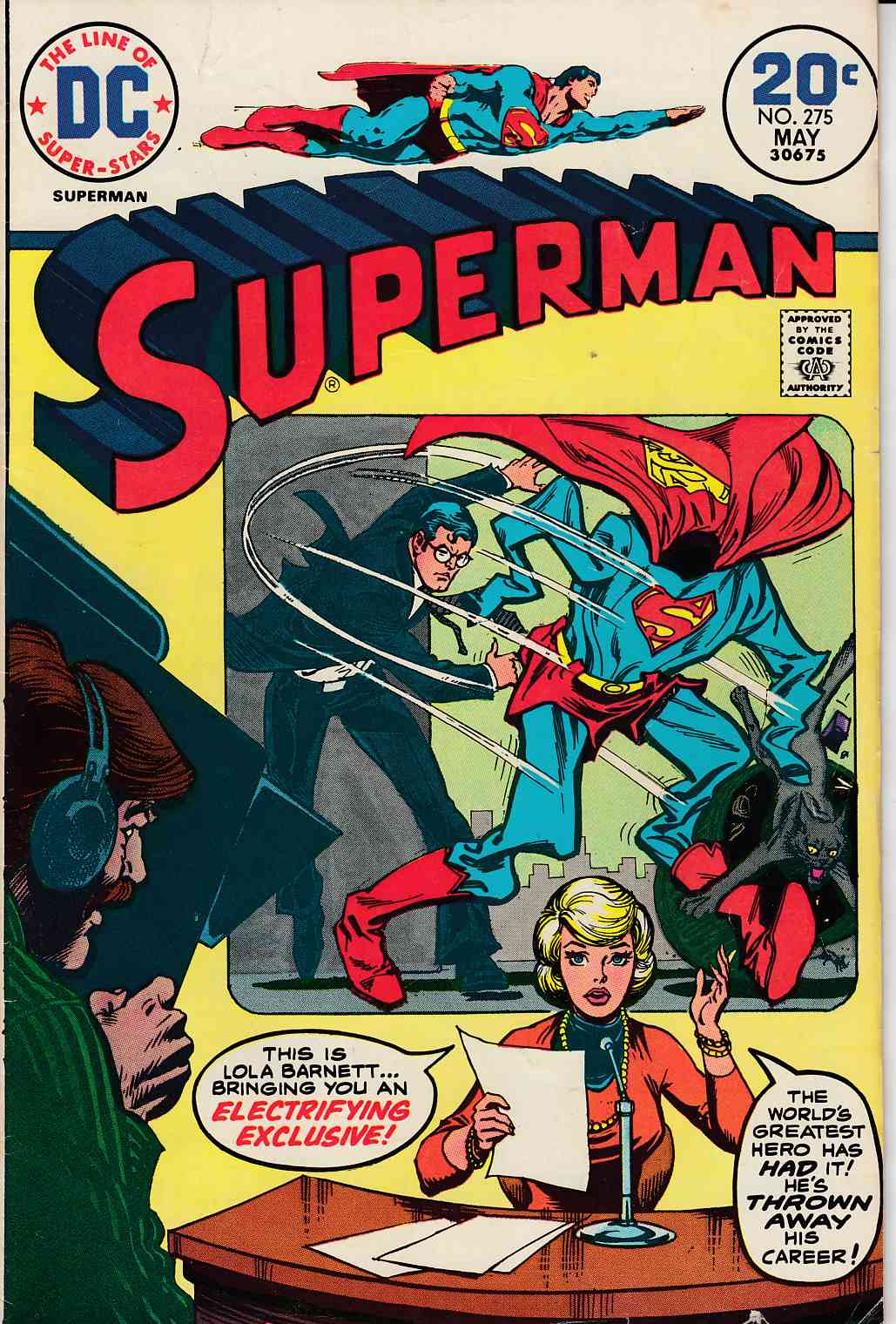 Superman #275 Very Good (4.0) [DC Comic] LARGE